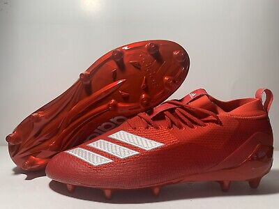 "Adidas Adizero 5-Star 8.0 ""Red"" EF0073 Men's Size 11.5 Football Cleats"