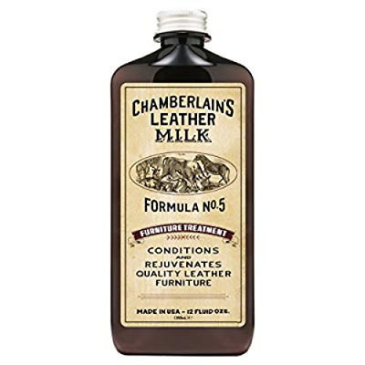 Chamberlain's Leather Milk Furniture Conditioner Cleaner Treatment No. 5 12 oz