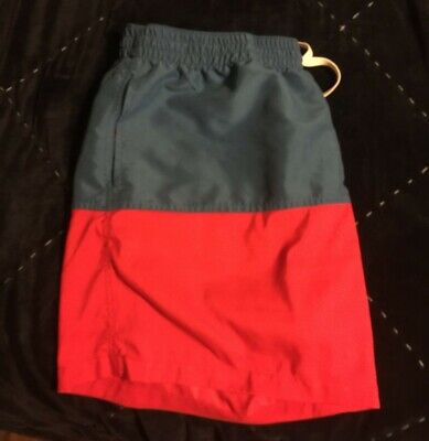 Mens 2XL Chubbies Red Blue Shorts Swim Trunks USA Colors