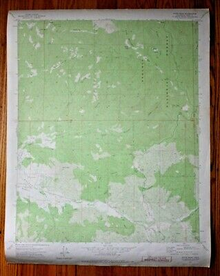 Vintage 1971 USGS Sequoia National Forest Topo Map Piute Peak Quadrangle