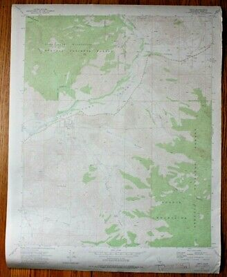 Vintage 1971 USGS Sequoia National Forest Topo Map Onyx Quadrangle