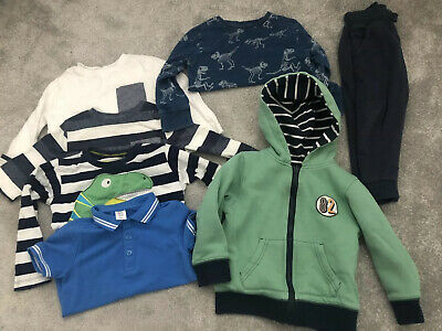 Next Boys 2-3 Boys Dinosaur Clothes Bundle Blue Green