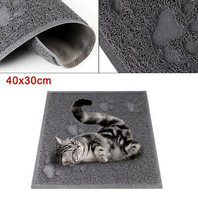 Rectangle 40x30cm Cat Litter Tray Mat Clean Floor Pet Box Pan Hooded Litter Mat