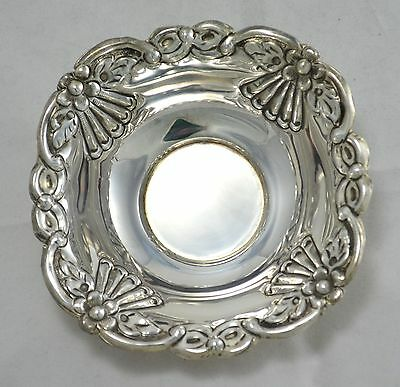 N 4326  Finger Bowl Centrotavola Svuotatasche In Argento Sheffield Collection
