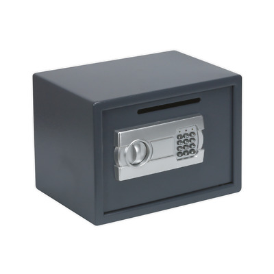 SECS01DS Sealey Electronic Combination Security Safe with Deposit Slot