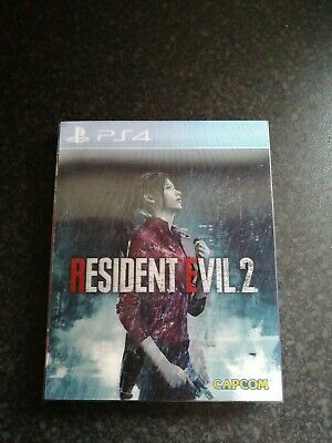 Resident Evil 2 Remake Lenticular Sleeve Limited Edition Ps4