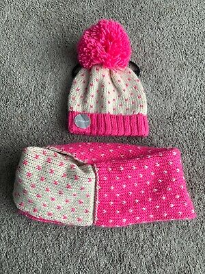 Girls Hat And Snood Set 4-8 Years
