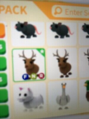 Roblox Adopt Me Fly Ride Neon Reindeer