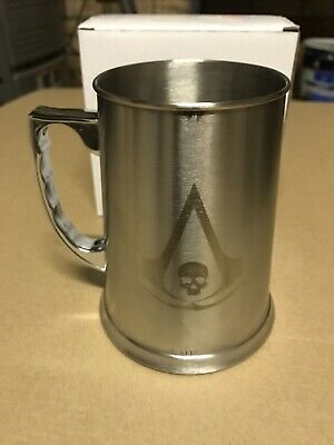 Assassins Creed Black Flag Stainless Steel Tankard