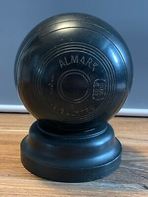 Almark Clubmaster M Hand Made Bowls On Wooden Stand Ornament/Trophy Collectors