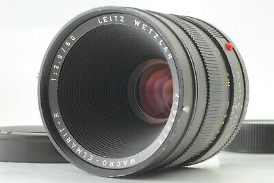[ Near Mint+3 ] Leica Leitz Macro-Elmarit-R 60mm F2.8 3 Cam R Mount Lens Japan