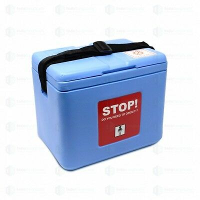 Small Vaccine Carrier Box, Capacity 0.80 Litres-with 2 Icepacks -Good Quality US