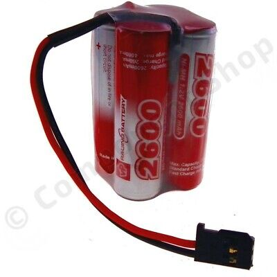 Radio Control Receiver Battery Pack 4.8v 2600ma Compact