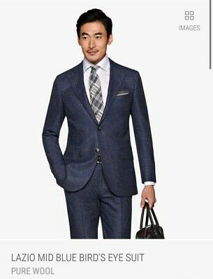 NEW WITH TAGS Suitsupply SUIT Lazio 38S $599 Value! FREE SHIPPING