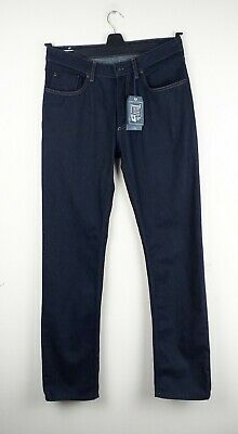 Joules Tried and True Kenson Dark Indigo Jeans Size 36/32 NEW 32L Straight