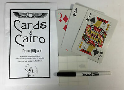 Magic Tricks : Docc Hilford Cards of Cairo, unused and in excellent condition