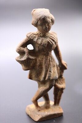 12th-9th Centuries BC - ANCIENT GREEK WONDERFUL LADY POSING STATUE
