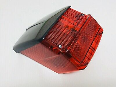Vespa Rally 180 / Rally 200 Complete Rear Brake Light Unit With Black Gasket