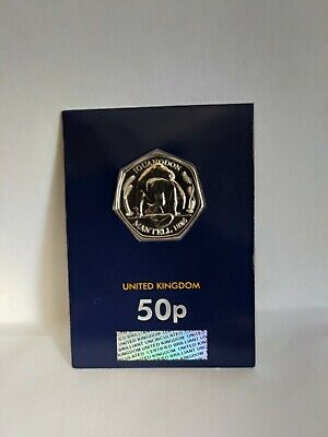2020 Royal Mint UK Iguanodon CERTIFIED BU 50p Dinosaur From Westminster Collect