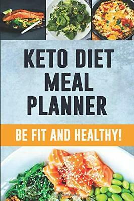 KETO DIET MEAL PLANNER: 90 DAY MEAL PLANNER FOR WEIGHT By Shy Panda NEW