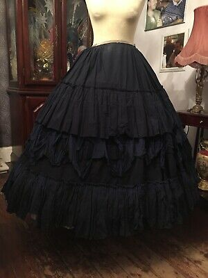 Original Theatre Costume Ladies Victorian Theatrical Skirt By Academy Costumes
