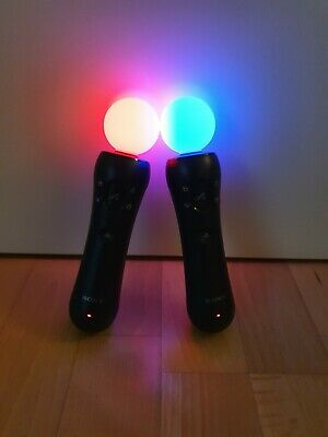 Sony Playstation Move Motion Controller 2 Stück