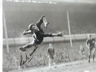 PETER BONETTI - CHELSEA - 8 x 10  SIGNED B  X  W  PHOTOGRAPH  AGAINST LIVERPOOL