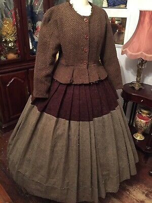 Ladies Victorian Theatrical Two Piece Costume By Academy Costumes