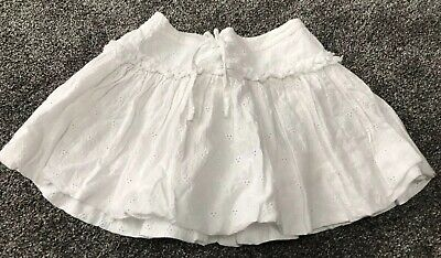 M&S White Skirt Age 18 Months-2 year