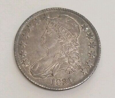 1831 Bust Half Choice Almost Uncirculated Toned*