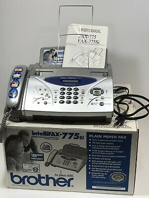 Brother IntelliFAX 775si Plain Paper Thermal Transfer Fax Copier Phone Machine