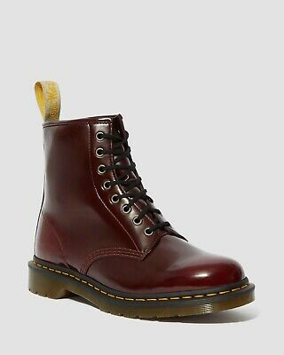 Dr Martens Vegan 1460 8 Eyelet Cherry Red Boots-23756600.