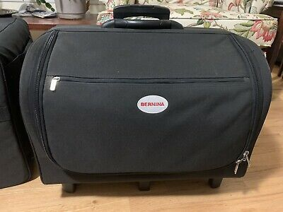 Bernina Sewing Machine Rolling Case With Lots Of Storage