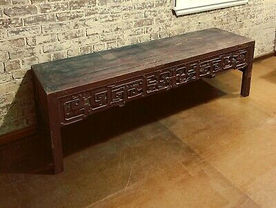 Qing Dynasty Antique Chinese Long Altar Table