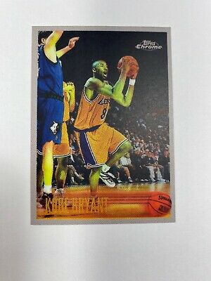 Kobe Bryant Rookie Card 1996-97 Topps Chrome Reprint #138 Los Angeles Lakers NBA