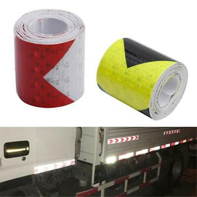 Safety Warning Tape Conspicuity Film Sticker Traffic Signs Reflective WL