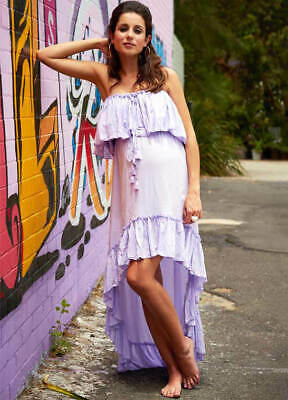 NEW - Fillyboo - Gypsy Maternity Dress in Lilac - FINAL SALE