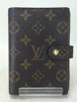 Louis Vuitton Agenda Notebook Cover Case MM R20105 Used Ex++