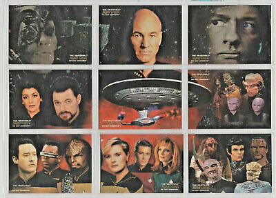 Star Trek TNG Quotable - Space The Final Frontier - Complete 9 Card Chase SET NM