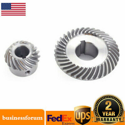 2x Milling Machine Lifting Gear C77+C96 Helical Mill Gear For Bridgeport Part US