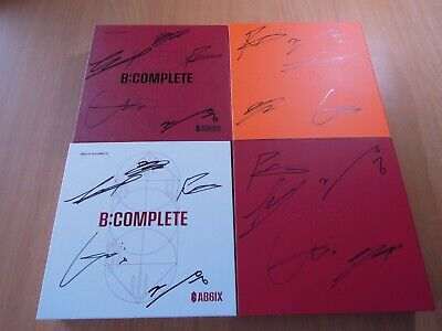 AB6IX  - B:COMPLETE 6IXENSE OLD promo with Autographed (Signed)