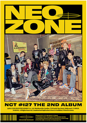 NCT 127 The 2nd Album NEO ZONE (Cover/photocard/circle card choice)