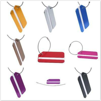 Suitcase Tag Mini Fashion Accessories Aluminum Alloy Address Luggage SW
