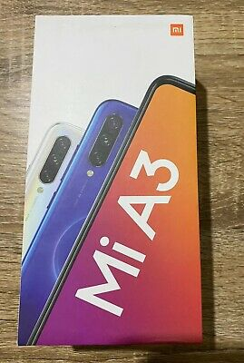 Xiaomi Mi A3 4G 128GB 4GB RAM Dual-SIM Blue Global Version Not Just Blue New