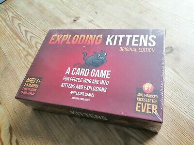 Exploding Kittens Base Game - Sealed! Never played!
