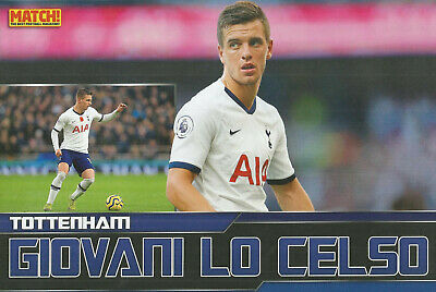 Match!-Poster 2020-Tottenham Hotspur & Argentina-Real Betis-Psg-Giovani Lo Celso