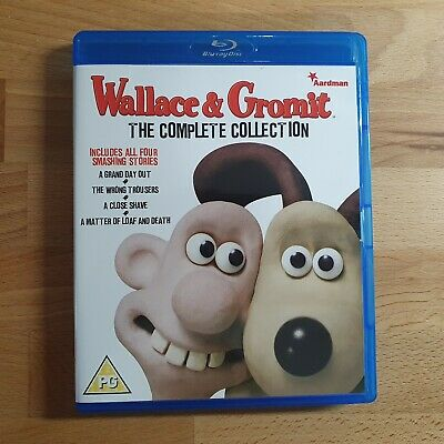 Wallace and Gromit The Complete Collection Blu-Ray