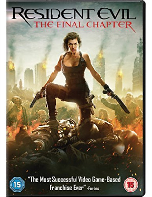 Resident Evil The Final Chapter DVD NUOVO