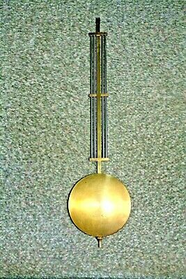 Large Brass Wall Clock Pendulum for spares/repairs parts
