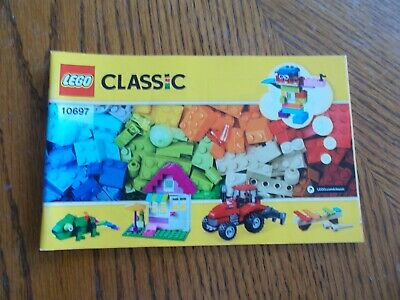 Lego Classic Large Creative Box 10697 INSTRUCTION MANUAL ONLY